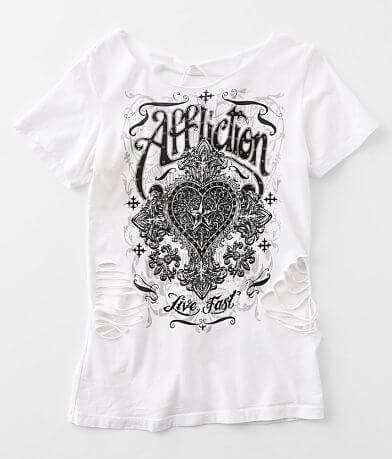Affliction Laguna Script T-Shirt