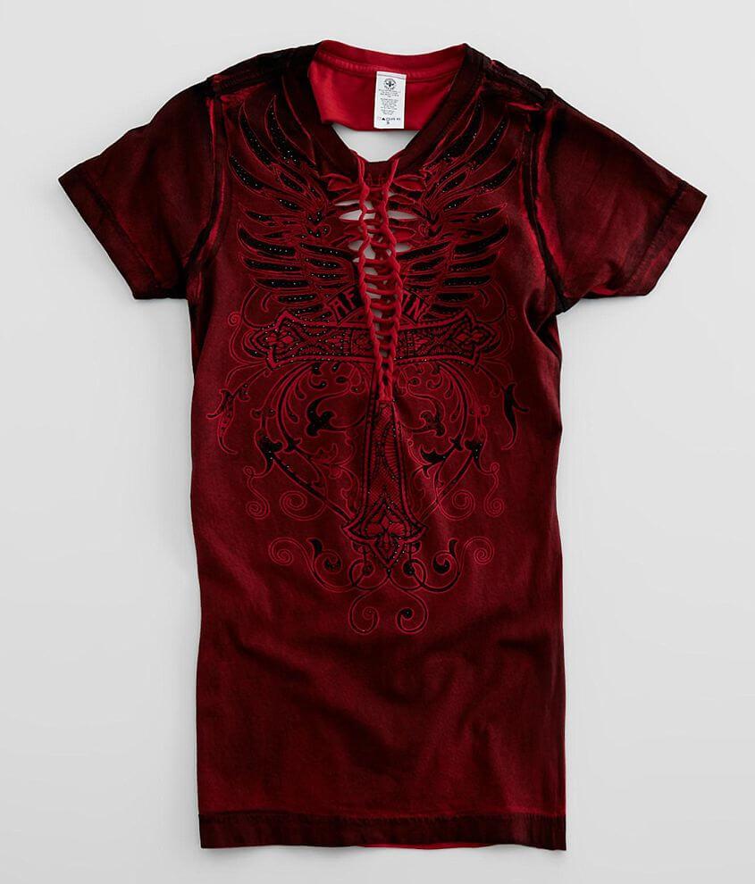 Affliction Mathilda T-Shirt front view