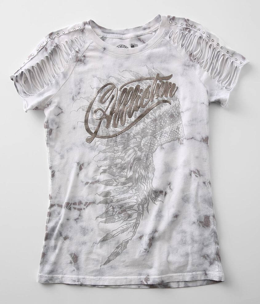 Affliction Phantom Tribe T-Shirt front view