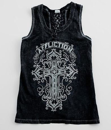 Affliction Saint Germain Tank Top
