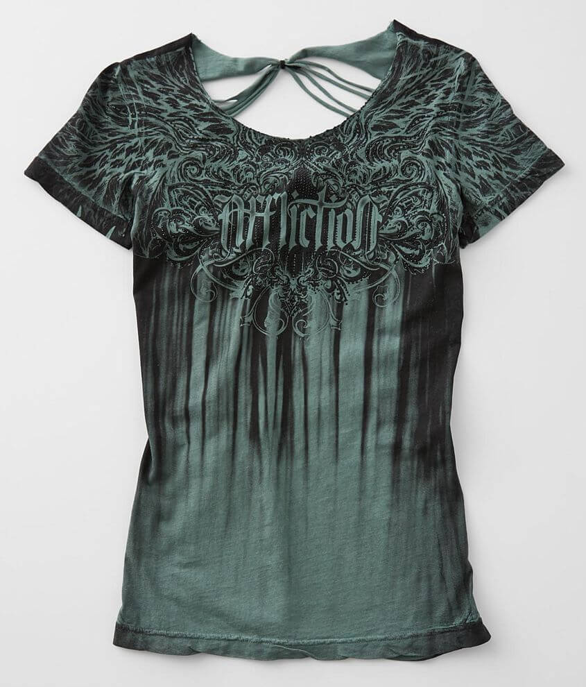 Affliction Briessa Baby T-Shirt front view