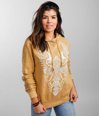 Affliction Platinum Canyon Hooded Sweatshirt