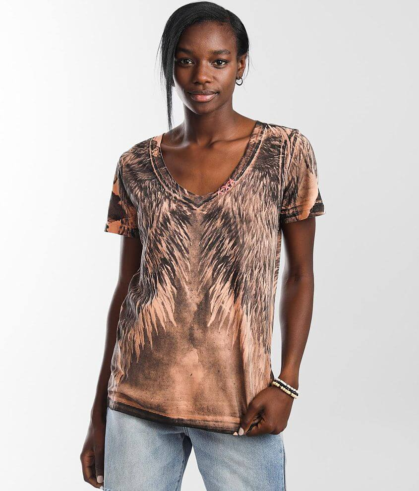 Affliction Danica T-Shirt front view