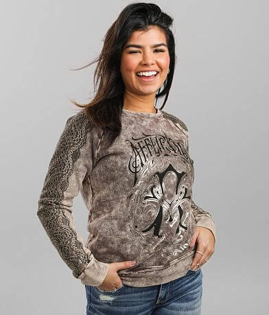 Affliction Iconic Steel Sweatshirt
