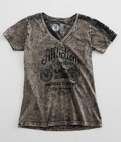 Affliction American Customs Iron Rider T-Shirt