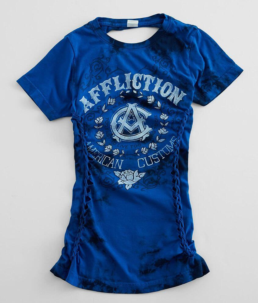 Affliction American Customs Big Sky T-Shirt front view