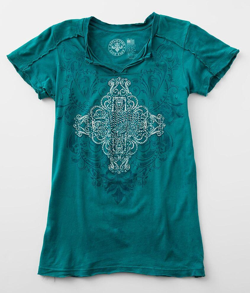 Affliction Charlotte Oak T-Shirt front view