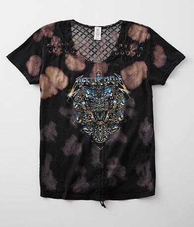 Affliction Chromium Panther T-Shirt