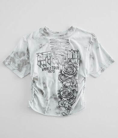 Affliction American Customs Tour of Roses T-Shirt