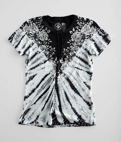 Affliction Rose Vine T-Shirt
