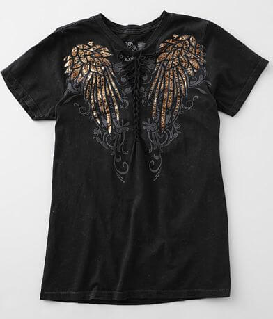 Affliction Angelic Wings T-Shirt