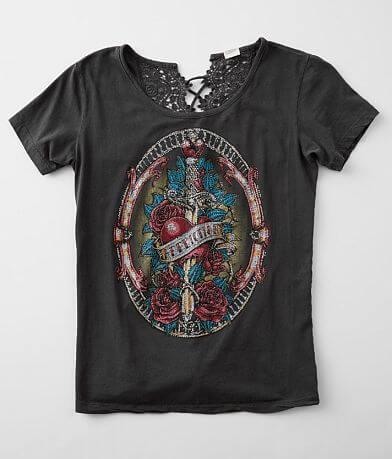 Affliction Juliet's Roses T-Shirt