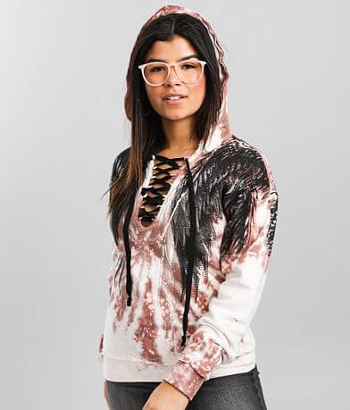 Affliction Cherielle Hooded Sweatshirt
