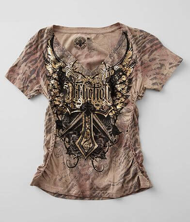 Affliction Lily Anne V-Neck T-Shirt