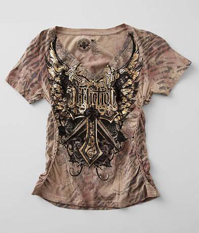 Affliction Lily Anne V-Neck T-Shirt