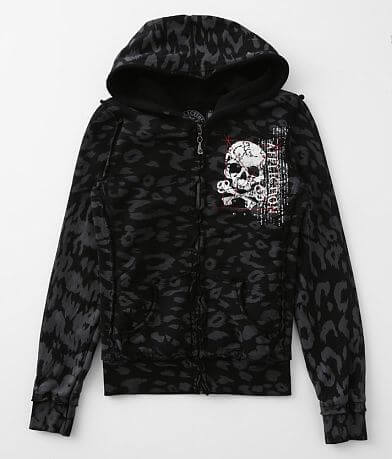 Affliction Phlox Heavyweight Hooded Jacket