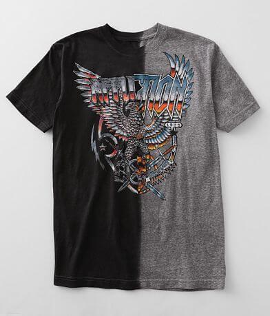 Affliction Metal Split T-Shirt