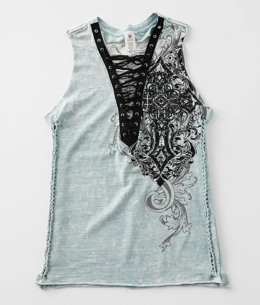 Affliction Donnington Tank Top front view
