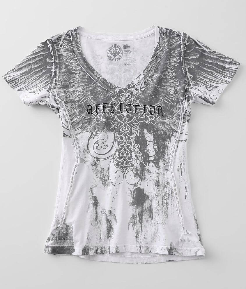 Affliction Grecian Estate T-Shirt front view