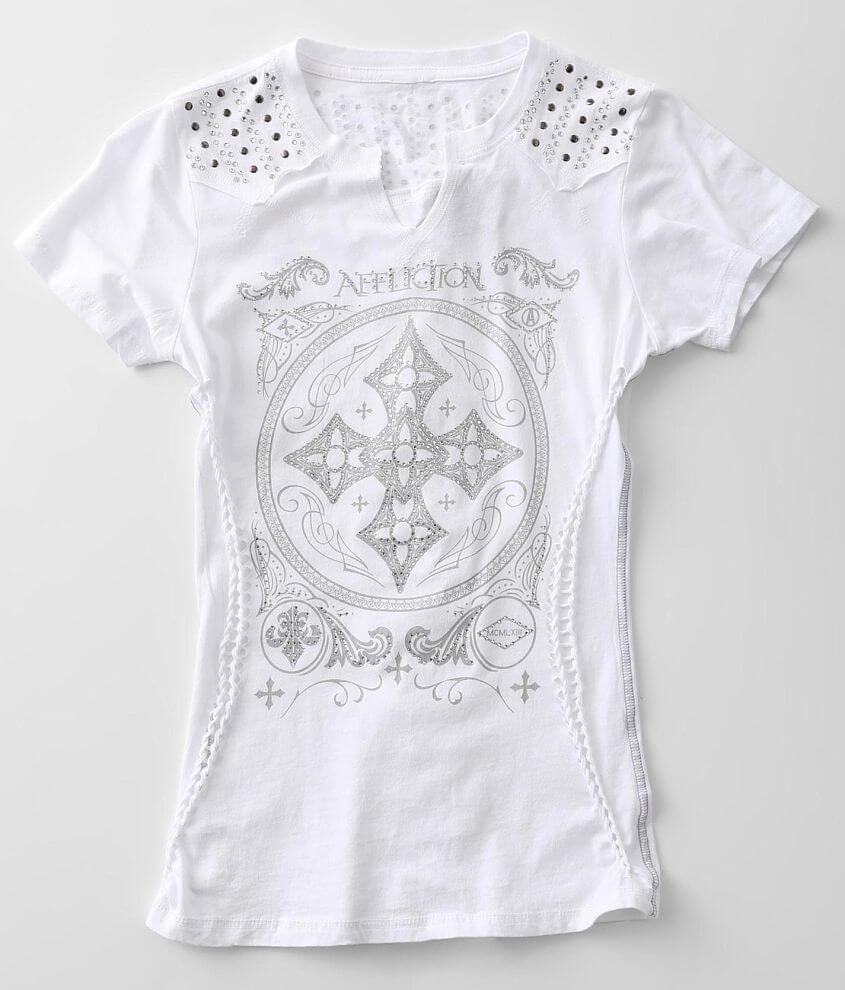 Affliction Pure Heart T-Shirt front view