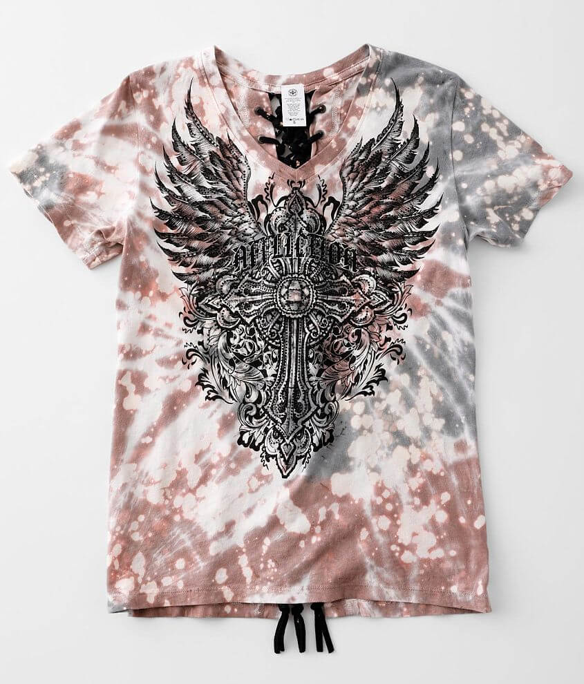 Affliction Sistine T-Shirt front view