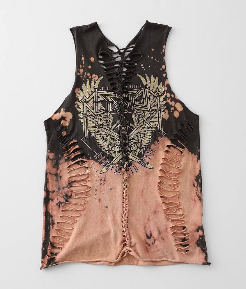 Affliction Setlist Tank Top front view