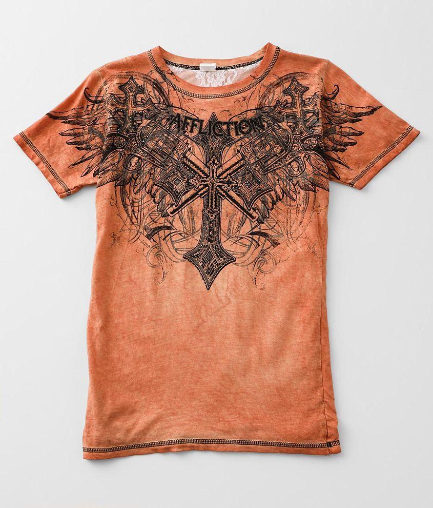 Affliction Priscilla T-Shirt front view