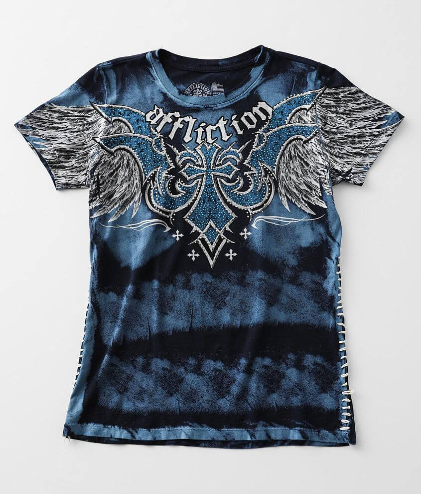 Affliction Cast Iron T-Shirt front view