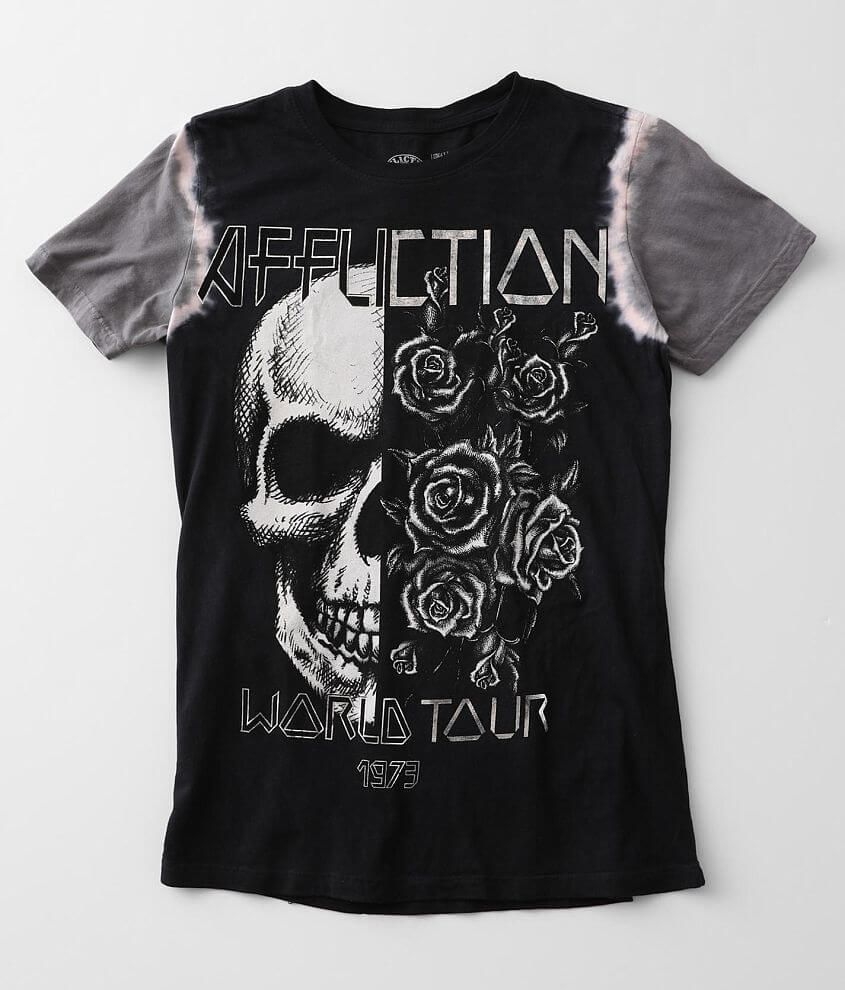 Affliction Starry Eyes T-Shirt front view