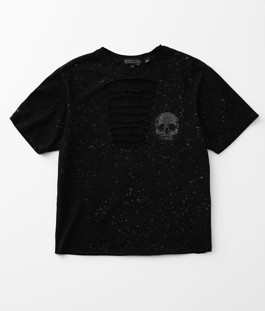 Affliction Targeted Sword T-Shirt front view