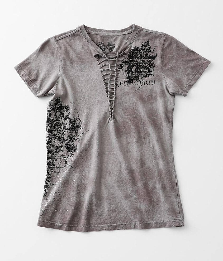 Affliction Tact T-Shirt front view
