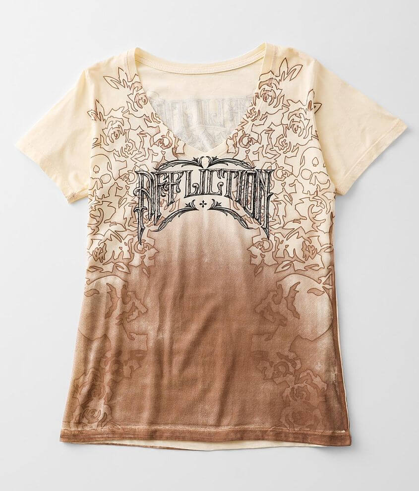 Affliction Madrigal T-Shirt front view