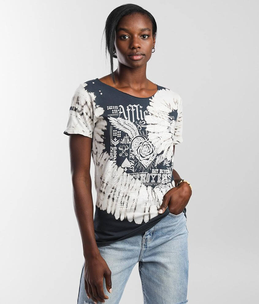 Affliction Tragic Love T-Shirt front view