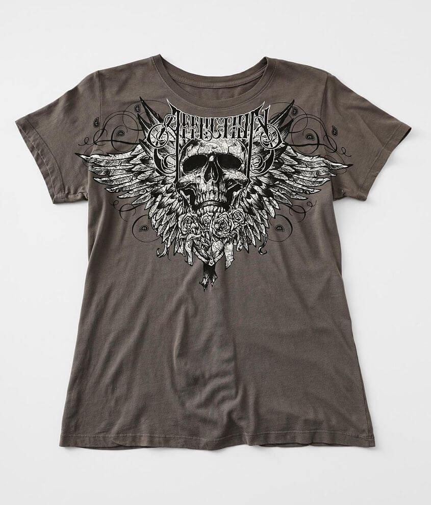 Affliction Cardiac T-Shirt front view