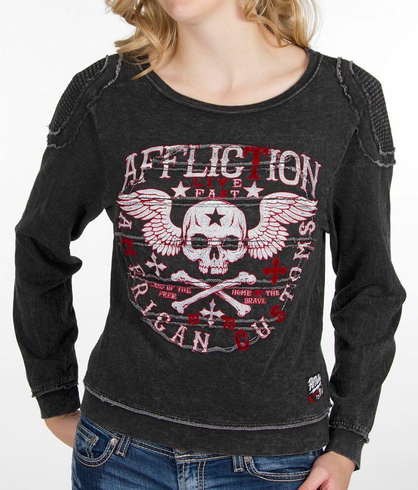 Affliction Creeps Sweatshirt front view