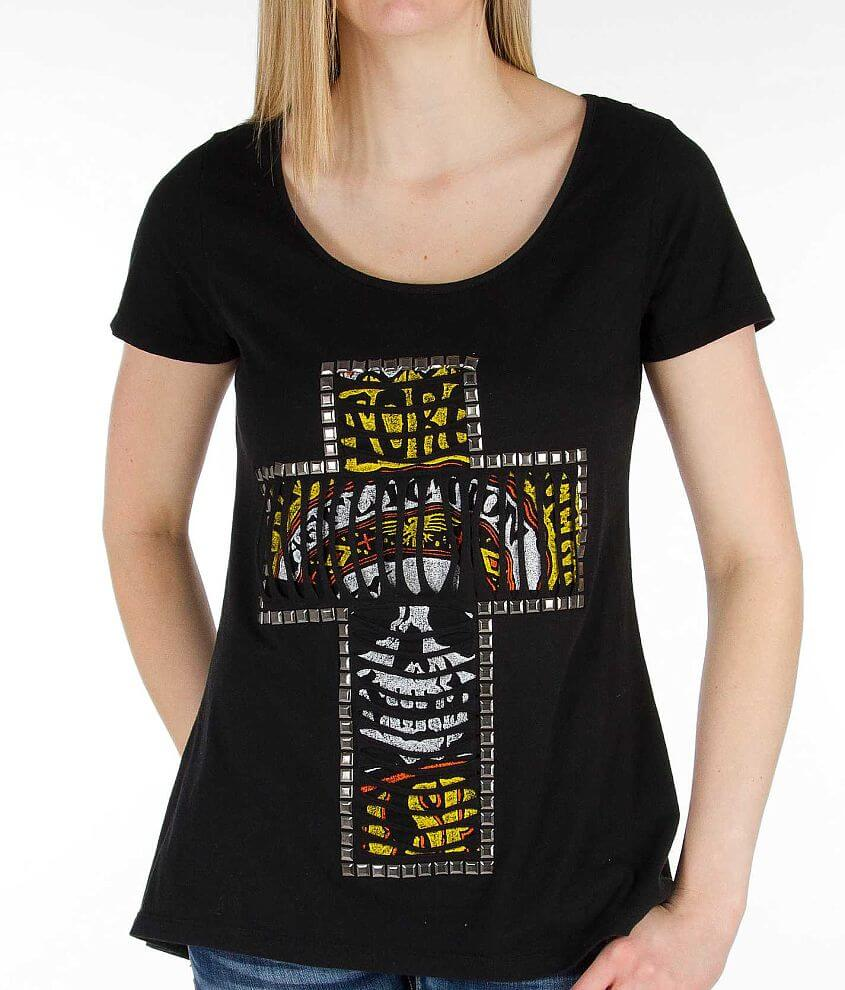 Affliction Conspire T-Shirt front view