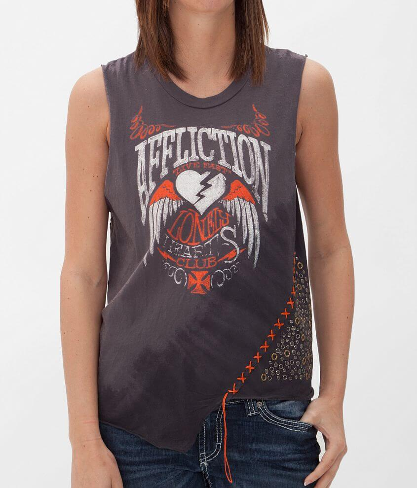 Affliction American Customs Championship T-Shirt front view