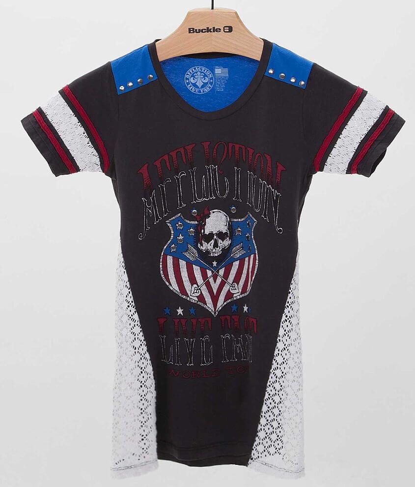 Affliction Live Fast Tour T-Shirt front view