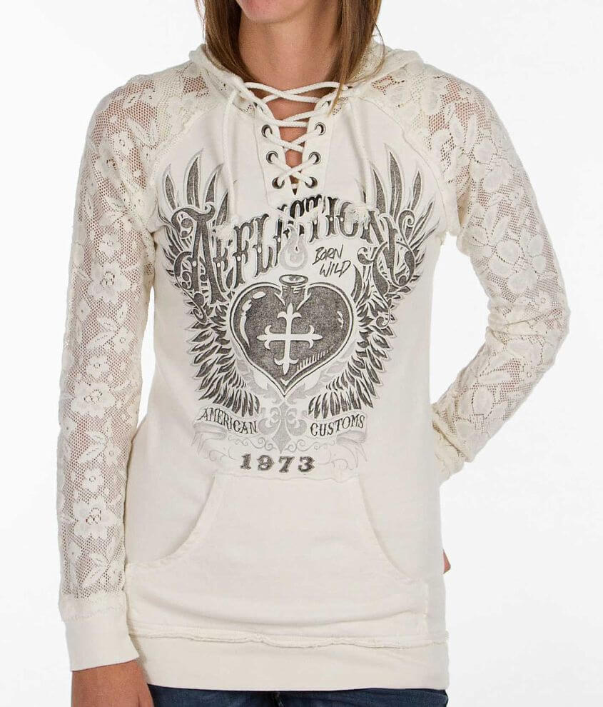 Affliction Rendezvous Sweatshirt front view