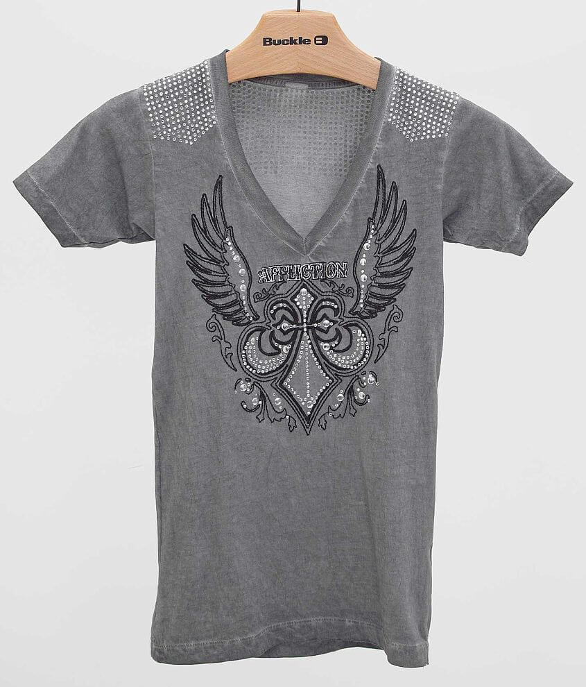 Affliction Helene T-Shirt front view