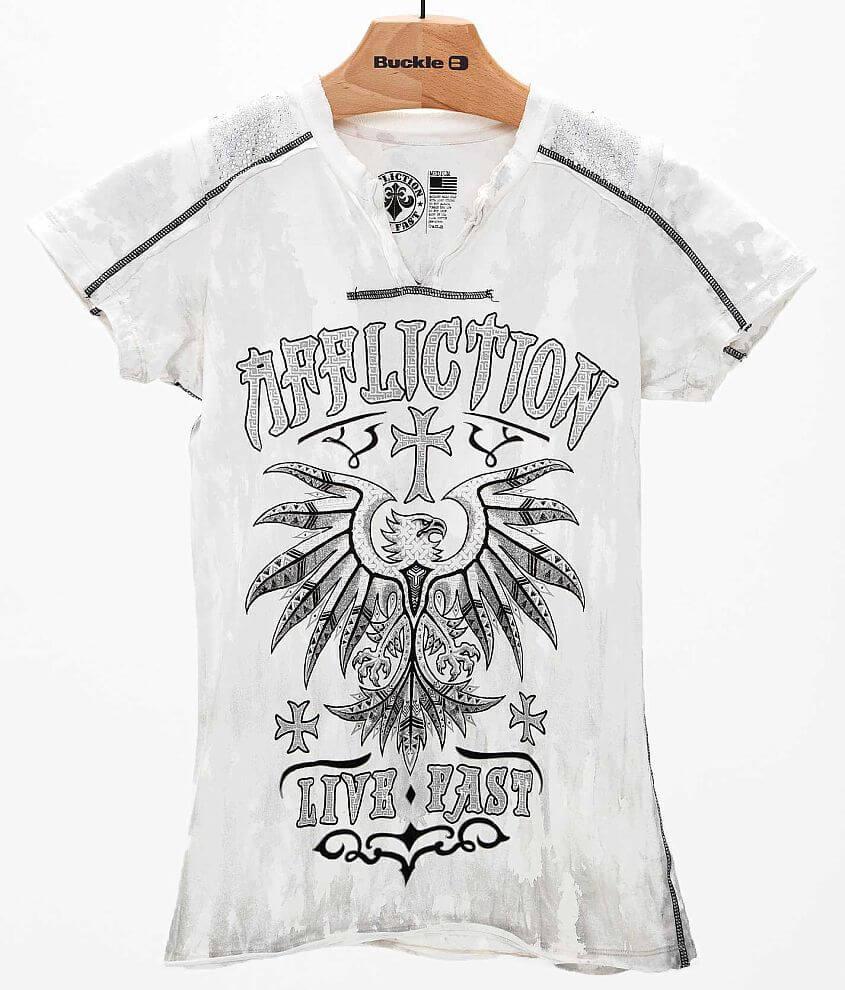 Affliction Kratos T-Shirt front view