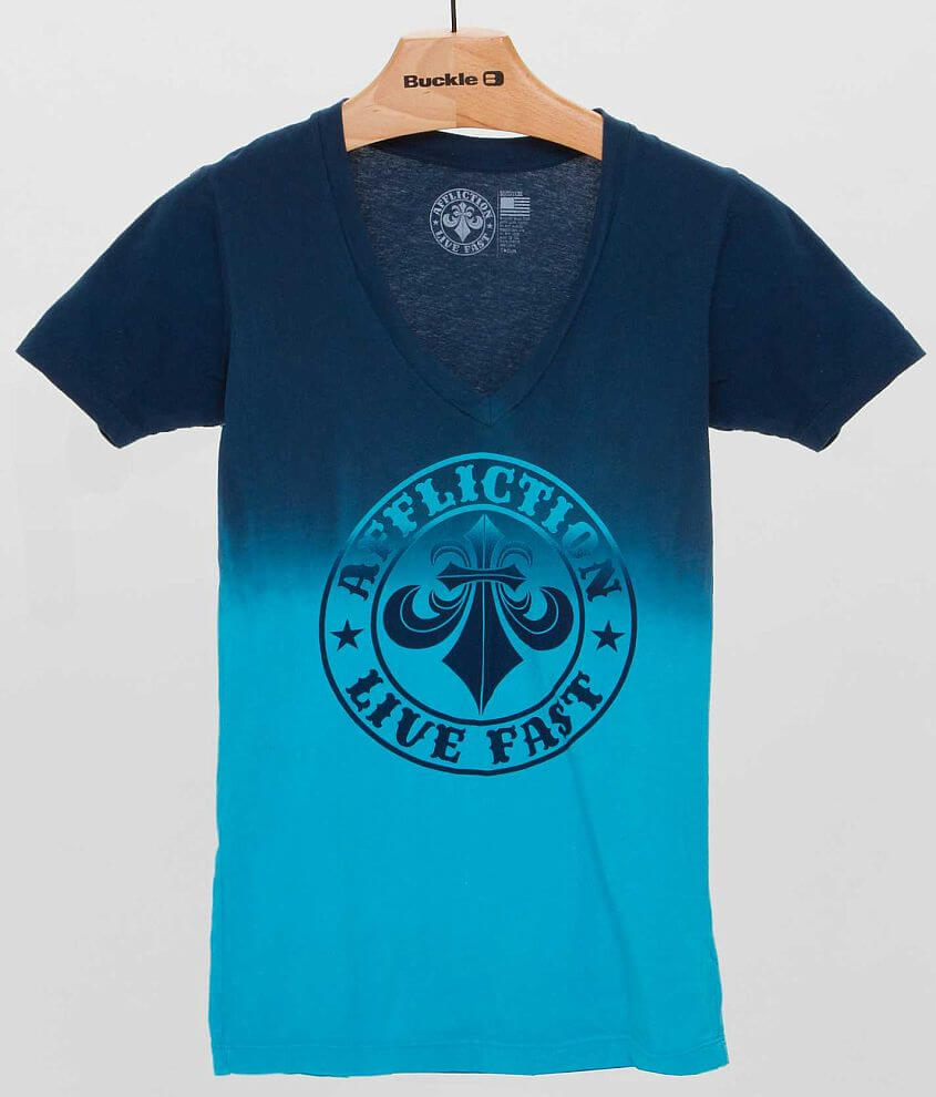 Affliction Pipeline T-Shirt front view