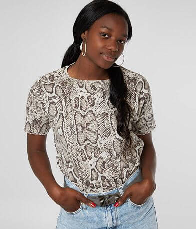 Modish Rebel Sarah Snakeskin T-Shirt