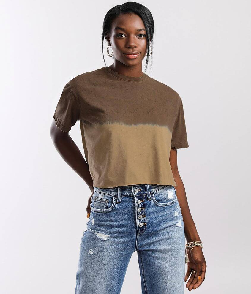Gilded Intent Karena Cropped T-Shirt front view