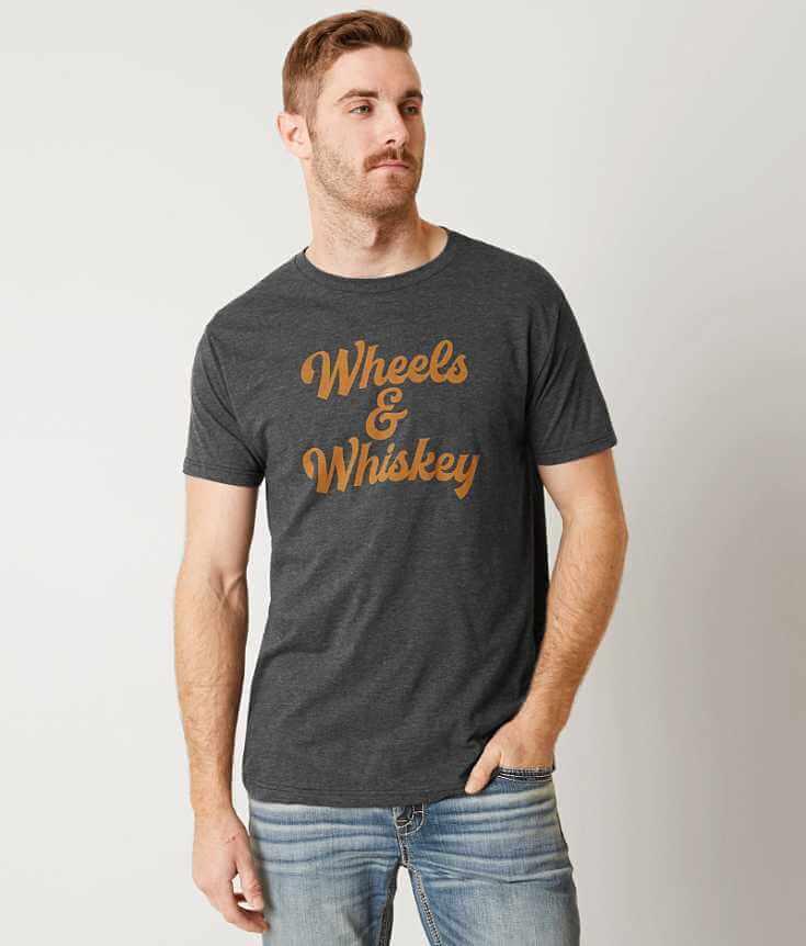 Chillionaire Wheels & Whiskey T-Shirt