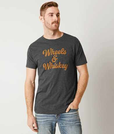 Chillionaire Wheels & Whiskey T-Shirt