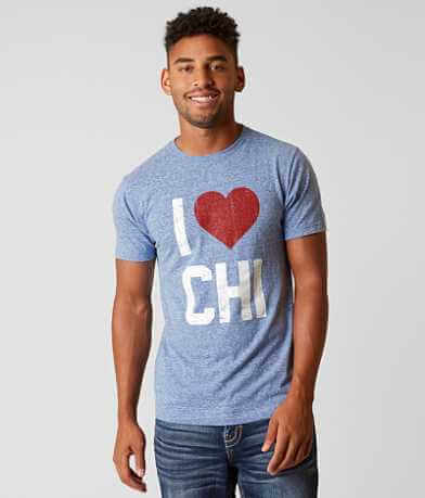Chillionaire I Love Chicago T-Shirt