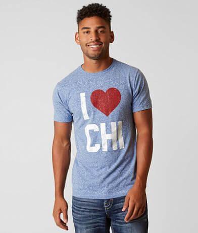 Chillionaire I Love Chicago T-Shirt