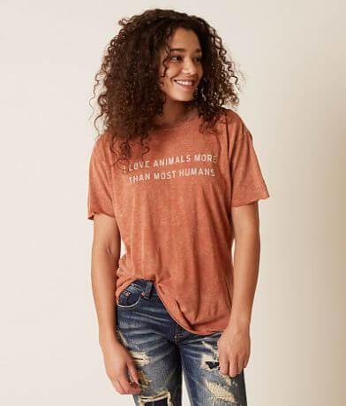 Chillionaire I Love Animals T-Shirt