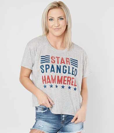 Chillionaire Star Spangled Hammered T-Shirt